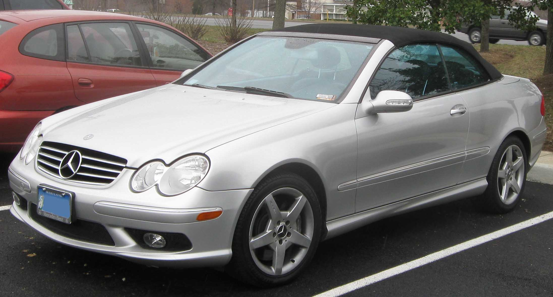 Mercedes benz clk class for Mercedes benz clk 500