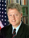 Bill Clinton, forty-second President of the United States