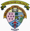 Logo of the Notre Dame College Dhaka