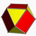 Cuboctahedron color