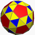 Snub dodecahedron color
