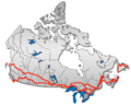 Trans-Canada Highway map