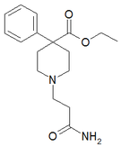 Chemical structure of Carperidine.