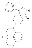 Chemical structure of Ro64-6198.