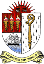 Unofficial coat of arms of East Ham Borough Council