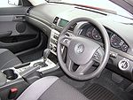 Holden VE Commodore Omega interior 01.jpg