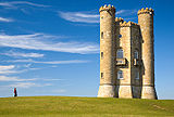 Broadway Tower in Cotswolds, England.