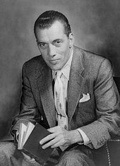 A black-and-white promotional shot of Ed Sullivan