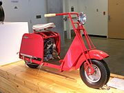 Sears Allstate scooter, made by Cushman