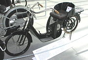 The Lomos was DKW's second motorcycle; the first was the Golem, an auto-fauteuil
