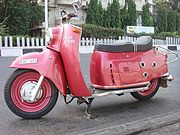 One of the largest scooters of the classic age
