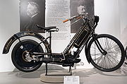 The first production motorcycle, the Hildebrand & Wolfmüller had a step-through frame