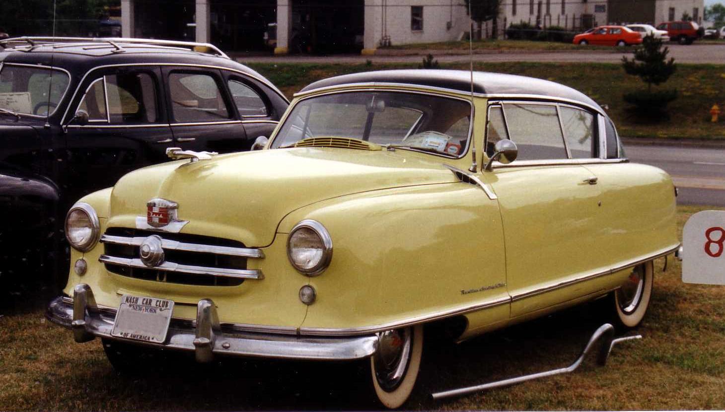 1951 nash country club 2 door hardtop