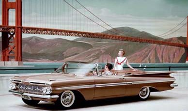 1959 Chevy Impala Convertible for Sale