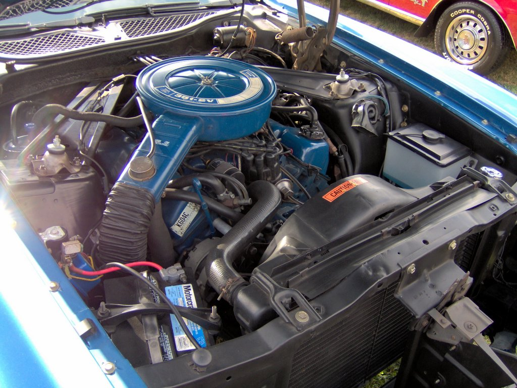 Ford 335 Engine