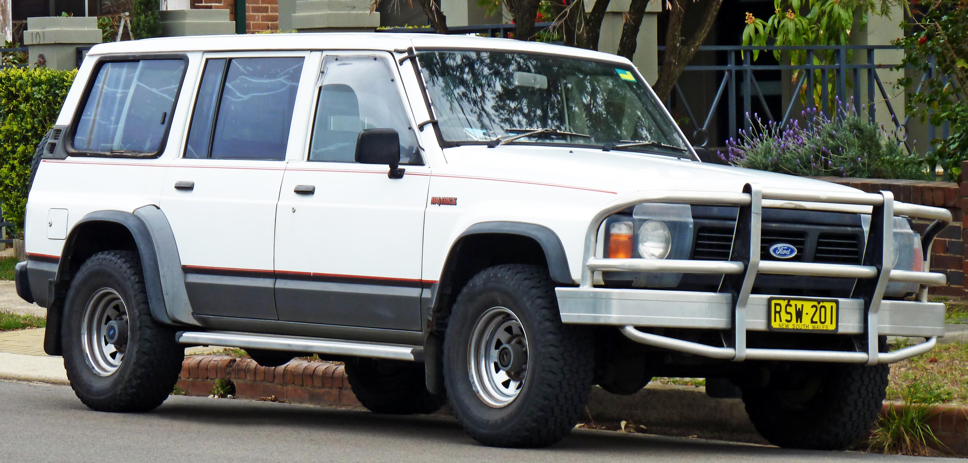 1988 1994 ford maverick wagon australia