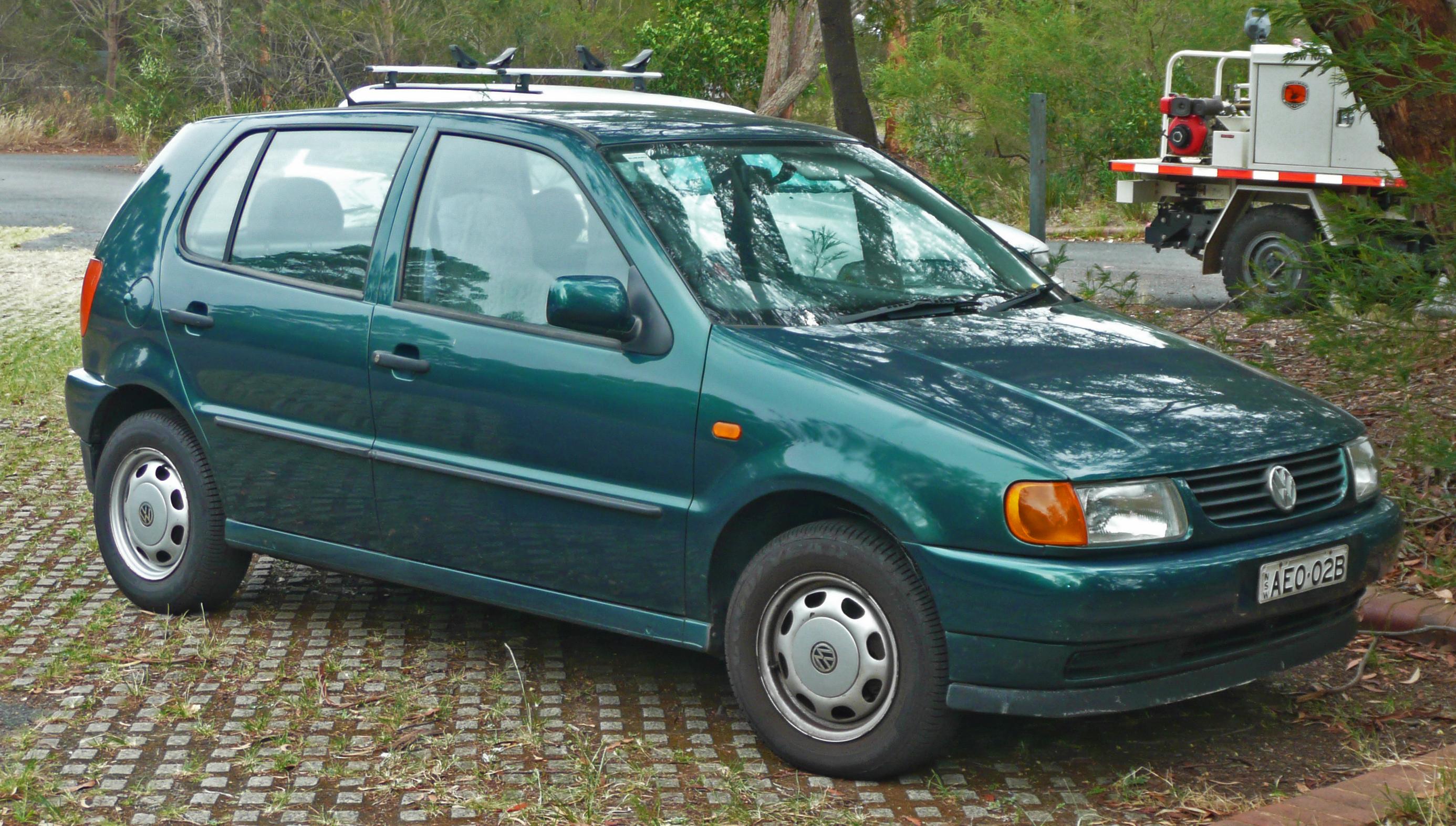 Фольксваген поло 1996 фото