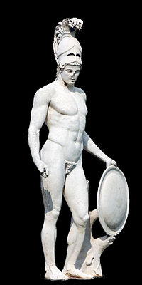 Statue of Ares from Hadrian's Villa