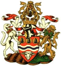 Arms of the former Hereford and Worcester County Council