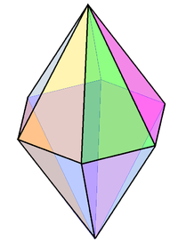hexagonal bipyramid