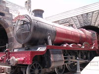 A re-creation of the Hogwarts Express