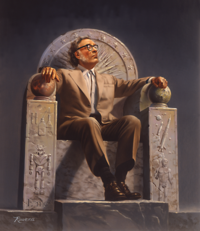 Isaac Asimov on Throne.png