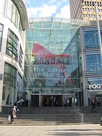 Manchester Arndale from Corporation Street in Exchange Square.jpg