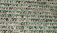 Poster of disappeared persons complied by the Mothers of the Plaza de Mayo
