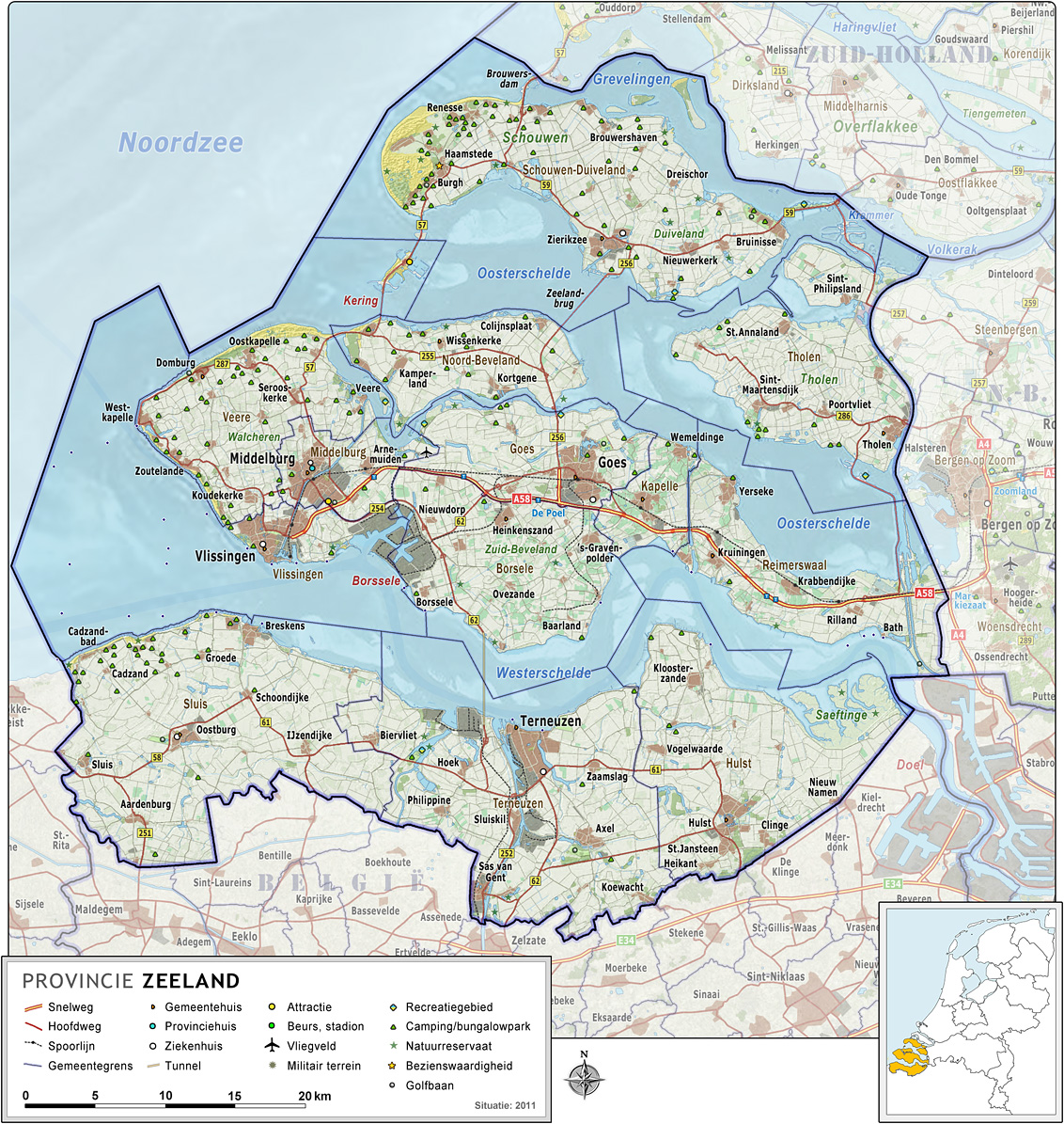 Zeeland The Best Tourist Place in The World