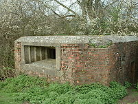 Pillbox at Poulters Bridge