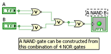 Constructing NAND gate from NOR gates.png