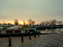 Dawn by the river Great Ouse, Ely