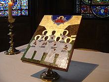 Icon of the Melanesian Martyrs at Canterbury Cathedral (Anglican Communion)