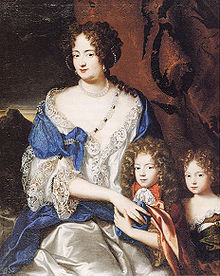 Sophia Dorothea and her two children