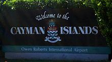 Welcome to the Cayman Islands - Owen Roberts International Airport, George Town, Grand Cayman.jpg