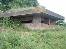 Pillbox at Western Heights, Dover.