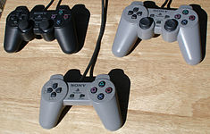 Original, Dual Analog and DualShock controllers