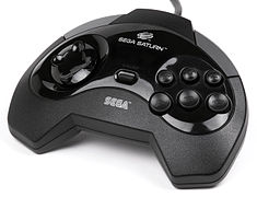 Sega Saturn North American/European controller