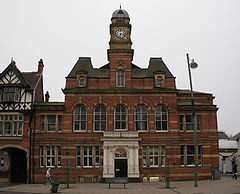 Eccles old town hall