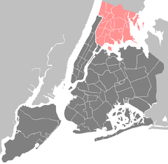 Clason Point, Bronx is located in Bronx