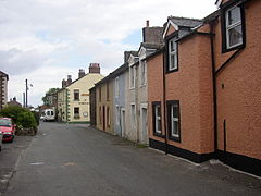 The main street and road junction, Bowness on Solway - geograph.org.uk - 86243.jpg