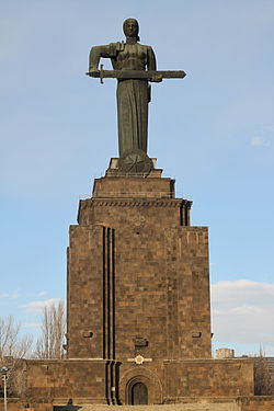 Mother Armenia statue and the Military museum