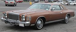 1978-1979 Chrysler Cordoba