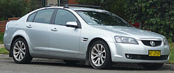 MY09–MY09.5 Holden VE Calais V sedan