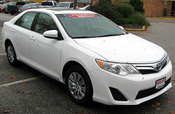 2012 Toyota Camry LE (US)