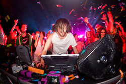 American Electronic Producer known for heavy sampling performing and producing