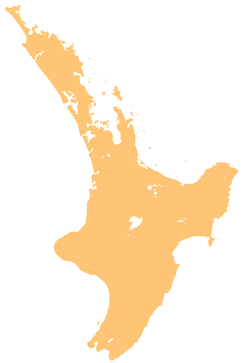 Napier-Hastings Urban Area is located in North Island