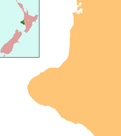 New Plymouth is located in Taranaki Region