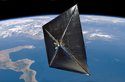 NanoSail-D in orbit (artist depiction).jpg