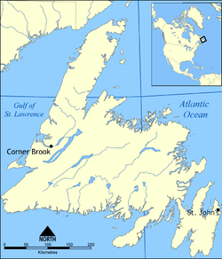 St. John's, Newfoundland and Labrador is located in Newfoundland